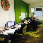 @CapsureTax in their #coworking space