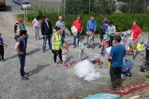 The Hub Newry & Love Your Lough Canal Cleanup June 2016