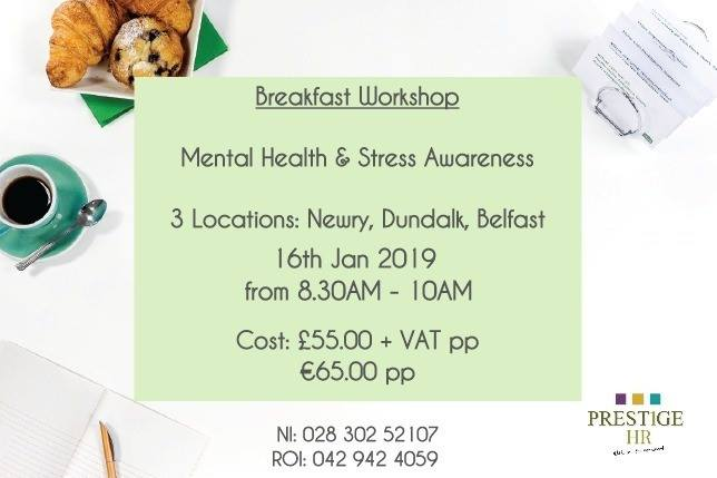Mental Health & Stress Awareness Breakfast Workshop