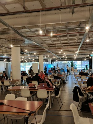 UK & European collaboration, the European Coworking Conference 2018